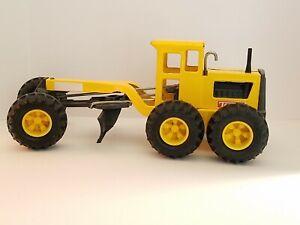Tonka Road Grader 2012 Yellow Hasbro Construction Vehicle #2