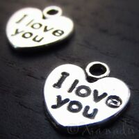 5 Or 10PCs I Can Charms 24mm Antique Silver Plated Affirmation Charms C4381-2