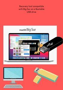 Media Installation Bootable USB Kit compatible For MacOs BigSur