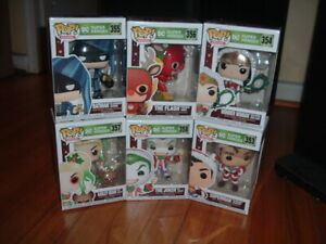 FUNKO POP! DC SUPER HEROES HOLIDAY SERIES -2020 SERIES~ 6 POPS~ MINT~ DC~