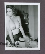 CHERRY KNIGHT Burlesque Star Nude Model 1950 ORIGINAL NUDE PINUP PHOTO B2879