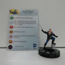 DC HeroClix The Flash Deathstroke #058 Figures w/ Cards G01