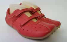 DIBA Red Leather Loafers Women's Comfort Shoes Sz 8 M