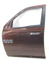 2009-2018 DODGE RAM 1500 LEFT FRONT DOOR SHELL AUBURN PEARL (PEP) OEM 2010 2011