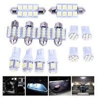 14x Auto T10 LED Licht Innen Birne Kit Für Karte Dome Kennzeichenbeleuchtung PDH