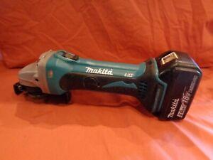 Makita BGA452 18v 115mm LXT Angle Grinder + 3AH battery read description