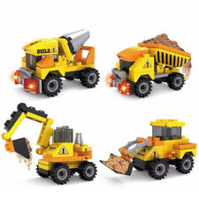 4pcs/set Truck Building Blocks Toy Car City Construction Enlighten Education Kid