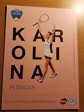 Karolina Pliskova - 2017 Western & Southern Atp Tennis 5 x 7 Player Card
