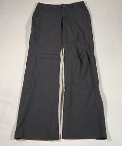 C91 REI Co-op Women's Hiking Roll up Pants Gray Size 4 Stretch