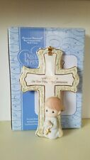 Precious Moments First Holy Communion Cross (Boy) Dated 2006