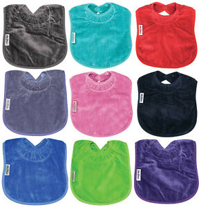 Silly Billyz Snuggly Premium Cotton Towel Toddler Bib with Secure Snap 360524