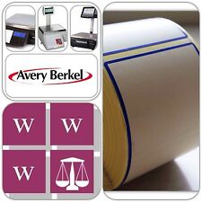 Avery Berkel Thermal Scale Labels - 58x76mm, 12 Rolls, 6,000 Labels
