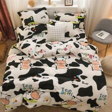 2020 Soft Flannel Cartoon Printing Duvet Cover for Bedroom Quilt Cover Top Hot