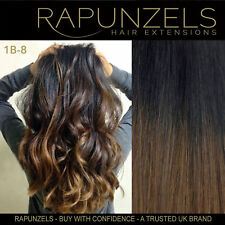 """Ombre hair extensions stick i tip for micro bead rings 20"""" 1 gram"""