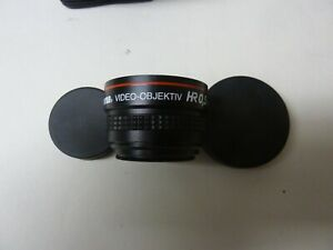 Camcorder: Wide Angle Lens - Hama VIDEO-OBJEKTIV in excellent condition.