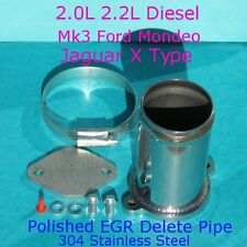 EGR Delete Kit Ford MK3 Mondeo Jaguar X-Type 2.0 2.2 TDCi ST 2.2 Stainless Steel