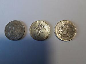 25 Peso Silber 1968 XIX. Olympiade in Mexico