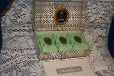 Vintage Jicky Guerlain Paris Toilet Soap 3 - 31/2 oz cakes NIB