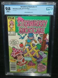 Strawberry Shortcake #1 - Based on the Animated TV Serirs - CBCS 9.8 - 1985