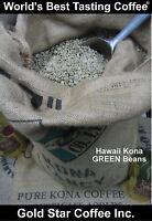 10 lbs - 100% Hawaii - Hawaiian Kona UNROASTED GREEN Coffee  - Extra Fancy Grade