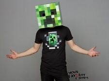 Minecraft creeper Head Mask Costume Gamer Licensed Cardboard Mask