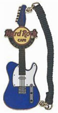 Hard Rock Cafe Yokohama 2006 Blue Guitar with Strap Pin