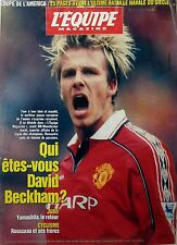 1999: DAVID BECKHAM_MICHAEL SCHUMACHER_coupe du monde RUGBY_YASUHIRO YAMASHITA