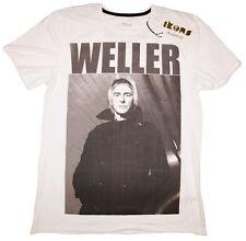 Ikons Amplified Paul Weller The Jam Guitar Rock Star Modfather immagine T-shirt G.L