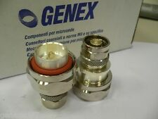 GENEX COAXIAL CONNECTOR ADAPTER 7/16 TYPE MALE TO N TYPE MALE COD.7023302