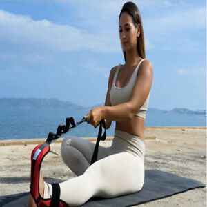 Yoga Stretching Strap Ankle Leg Ligament Stretcher Belt Band Foot Drop Strap UK