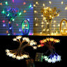 20LED 3M String Fairy Lights Snowflake Xmas Tree Christmas Party Home Decor Lamp