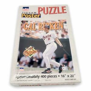 Vtg 90s Starline Cal Ripken Jr Baltimore Orioles Baseball Poster Jigsaw Puzzle