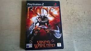 RUNE VIKING WARLORD - PLAYSTATION 2 PS2 GAME / +60GB PS3 - ORIGINAL & COMPLETE