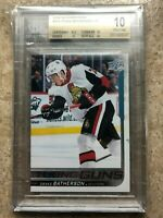 18-19 UD Upper Deck Series 2 Young Guns YG #484 DRAKE BATHERSON Graded BGS 10