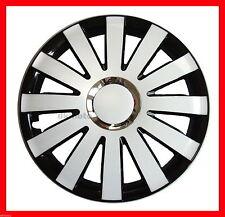 "14""  Wheel trims for VW Volkswagen Golf Polo Lupo Fox  4 x15""   black - white"