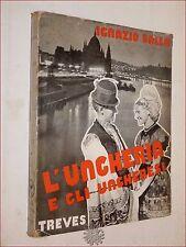 BALLA, Ignazio: L'UNGHERIA E GLI UNGHERESI 1937 Treves Dedica a Leopoldo Zurlo