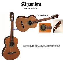 CHITARRA CLASSICA SPAGNOLA nuova  ALHAMBRA 2C MODELLO 2C 4/4 CEDRO MASSELLO