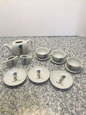 "Mini Holly Hobbie Tea Set ""Sharing Is Caring� American Greetings Vintage"