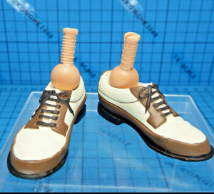 Sideshow 1:6 Indiana Jones Dr. Rene Belloq Figure - Leg Pegs + Boots