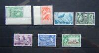 Sarawak 1955 - 59 values to 25c MM