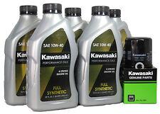 2013 Kawsaki NINJA ZX-14R ABS Full Synthetic Oil Change Kit