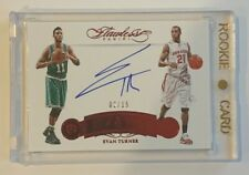 EVAN TURNER - 2015/16 PANINI FLAWLESS - NOW & THEN - AUTOGRAPH - #2/15