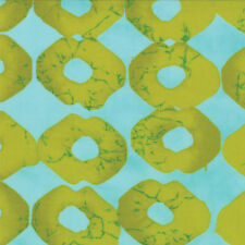 Moda ' From Outside In ' Bright Summer Geometric Robins Egg Fabric Fat Quarter