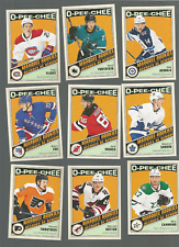 12 2019/20 OPC RETRO MARQUEE ROOKIES J HUGHES A FOX  R SANDIN+++OTHERS NRMT