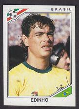 Panini mexico 86 Copa del Mundo - # 243 Edinho-Brasil