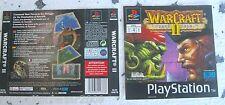 WARCRAFT II (1997) PLAYSTATION 1 COVER, NO DISCO