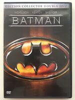 BATMAN édition collector 2 DVD NEUF SANS BLISTER Jack Nicholson, Kim Basinger