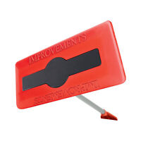 Improvements 18-Inch Snow Broom Snow Removal Tool w/52-Inch Compact Handle, Red