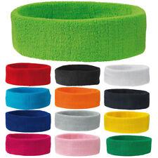 Sport Stirnband Schweißband Tennis Stirnband 16 Farben