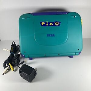 Sega Pico Console MK-49002 Tested and Works With Power Supply and Cord